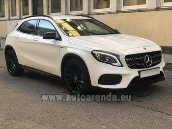 Аренда автомобиля Mercedes-Benz GLA 200 в Катании