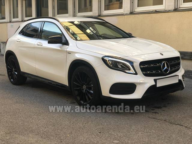 Аренда авто Mercedes-Benz GLA 200 в Италии