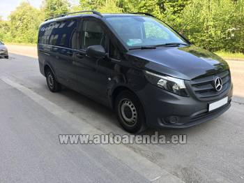 Аренда автомобиля Mercedes-Benz VITO Tourer, 9 мест в Риме