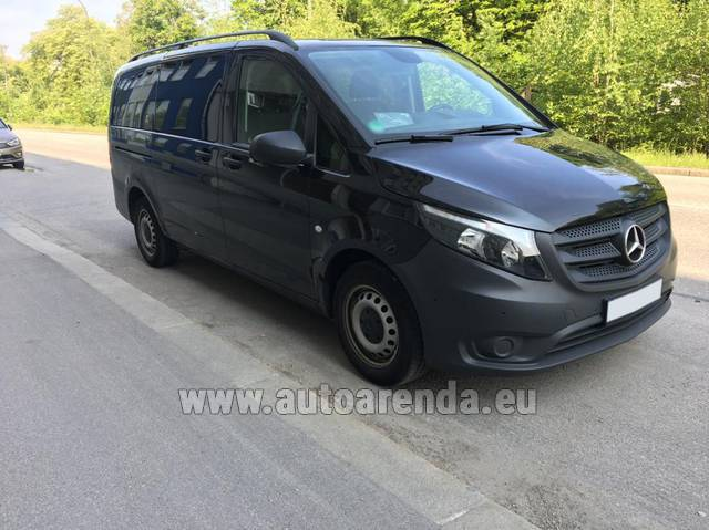 Аренда авто Mercedes-Benz VITO Tourer, 9 мест в Италии