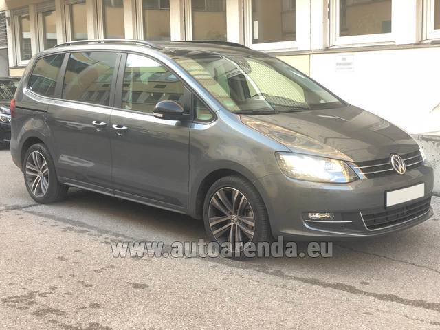 Аренда авто Volkswagen Sharan 4motion в Италии